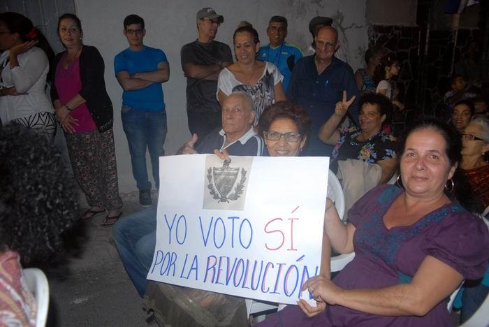 Patentizan el Sí por la Constitución en La Habana