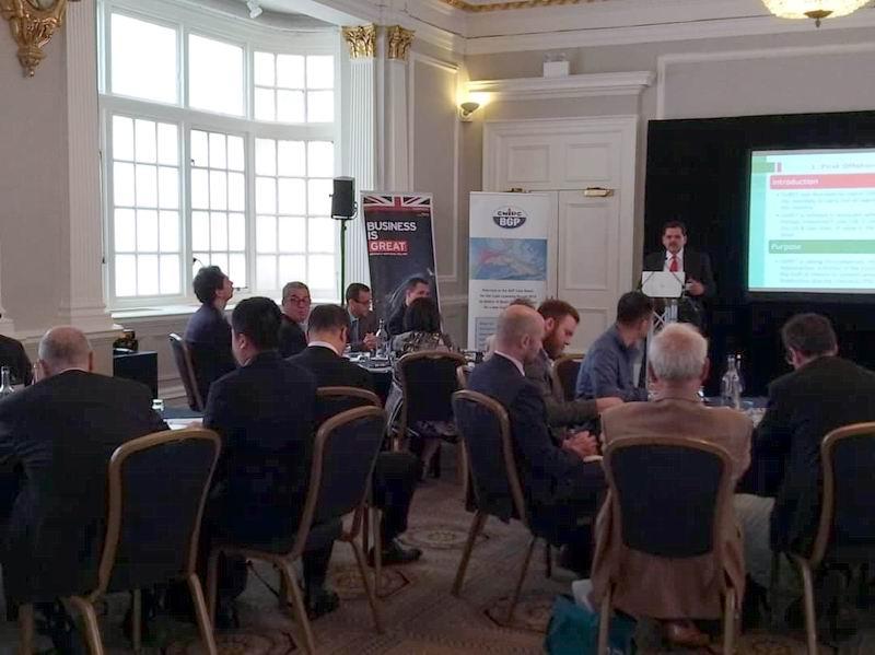 Presentó Cuba a inversores de Reino Unido potencial petrolero