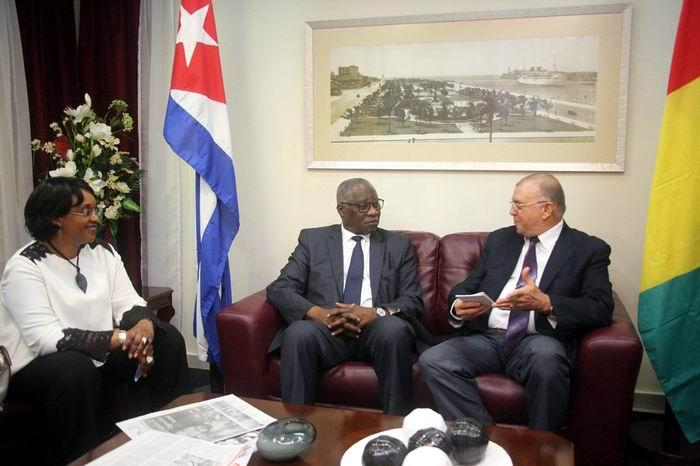 Se reunirá Canciller de Guinea con autoridades cubanas