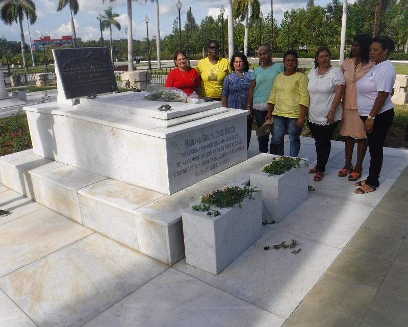 Homenaje a Fidel en el aniversario 59 de la fundación de la FMC