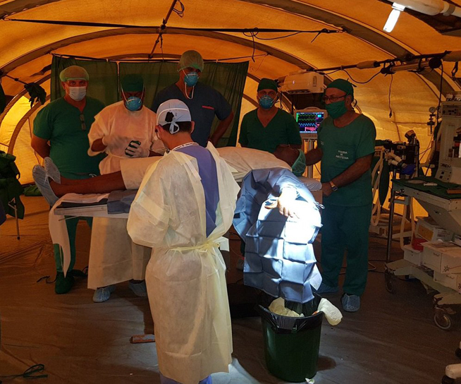 Cuban doctors in Mozambique disaster zone carry out outstanding work