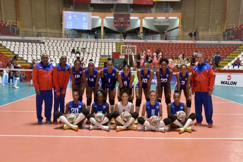 Cubanas caen en debut Panamericano