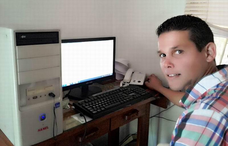 El joven Ingeniero Hidráulico Rainier Álvarez cuenta su historia
