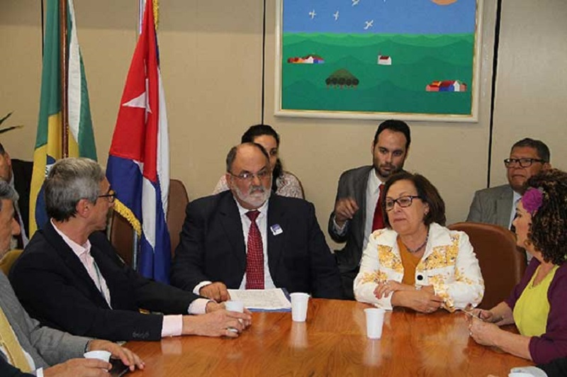 Parliamentary Group of Friendship with Cuba is reinstated in Brazil