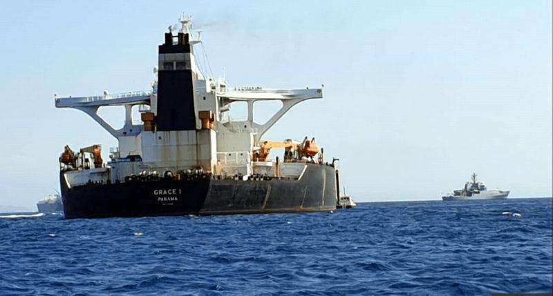 Reclama Irán al Reino Unido la liberación de barco petrolero detenido en Gibraltar