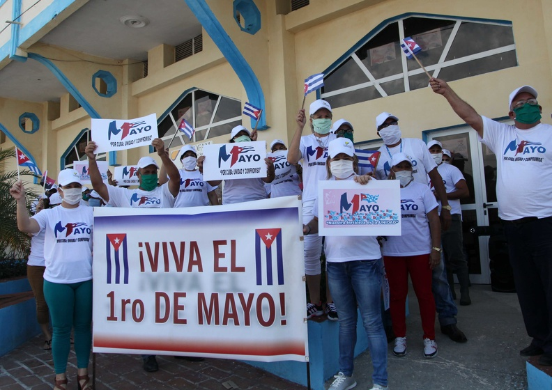 In times of a pandemic, a Cuban-style May Day