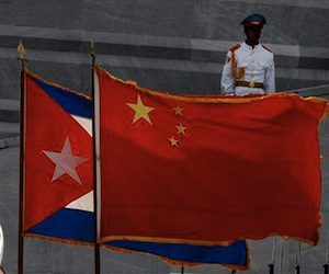 Cuban Foreign Minister Meets Chinese State Advisor