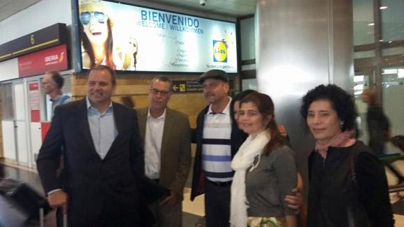 Agradece Gerardo Hernández solidaridad española con Los Cinco