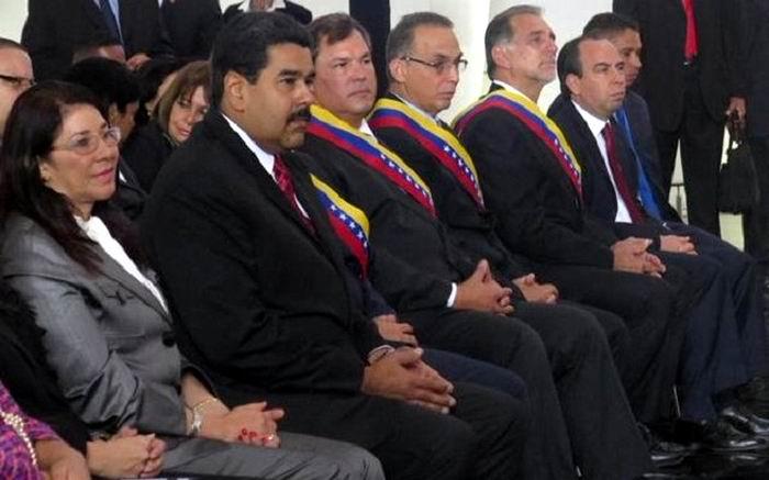 Entrega Maduro a Los Cinco orden Libertadores y Libertadoras de Venezuela (+Audio y Fotos)