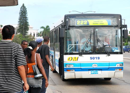 Afectaciones del bloqueo, en el sector del transporte