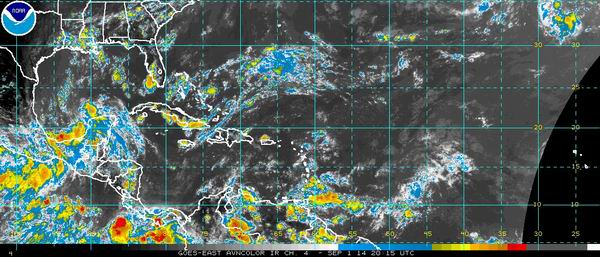 Se forma la quinta depresi�n tropical de la temporada cicl�nica