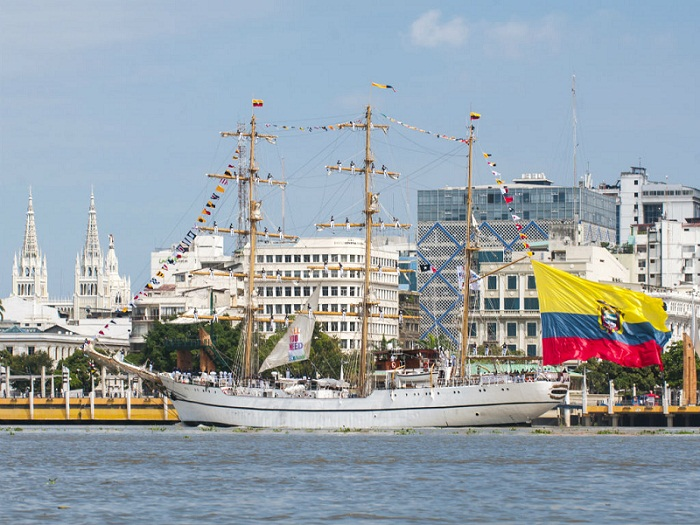 Ecuadorian Training Ship to arrive in Havana
