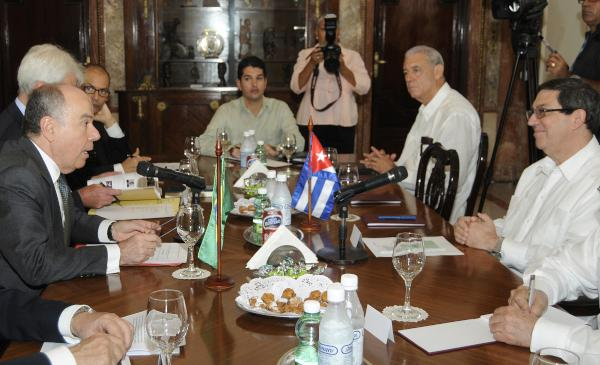 Cancilleres de Cuba y Brasil se re�nen en La Habana (+Audio)