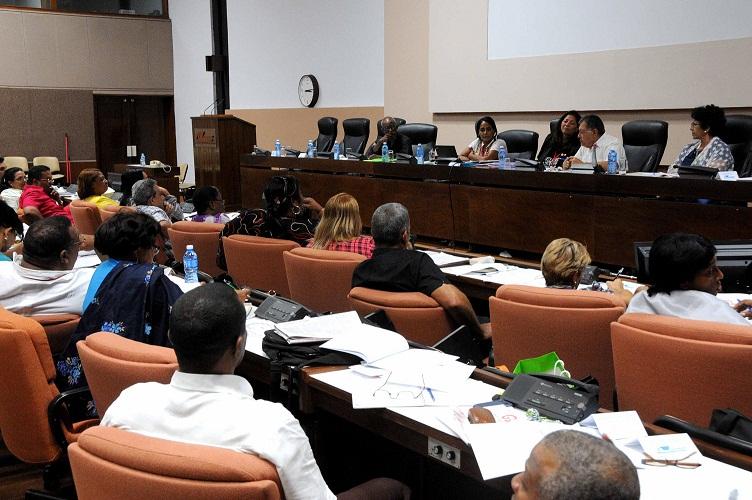 Prosiguen trabajo de las comisiones de la Asamblea Nacional