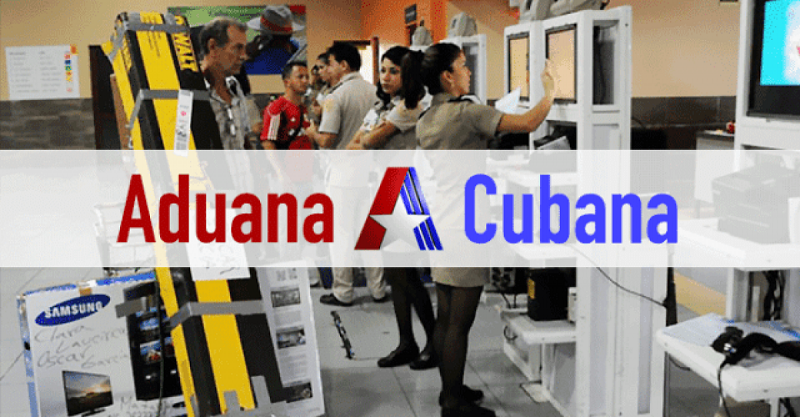 Cuban customs seizes over 100 illegal parcels through May