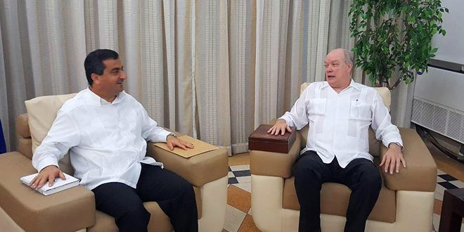 Cuban Minister stands out Strong Relations between Cuba and Syria