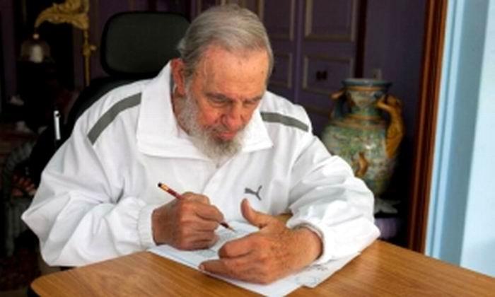Visit� a Fidel Castro el Ministro de Relaciones Exteriores japon�s