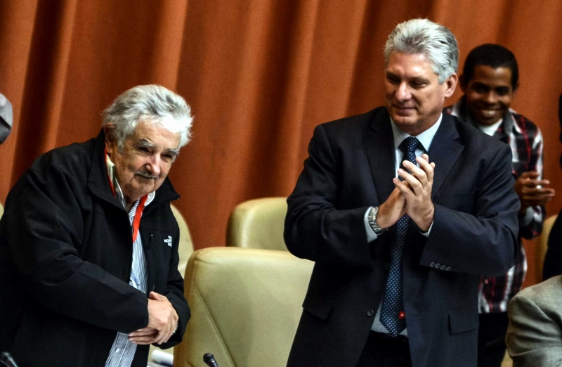 Former Uruguayan President Jose Mujica is in Cuba