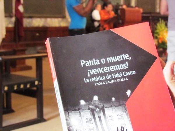 Presentan libro sobre la oratoria de Fidel
