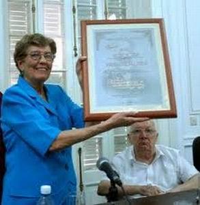 Conceden distinción al Memorial José Martí