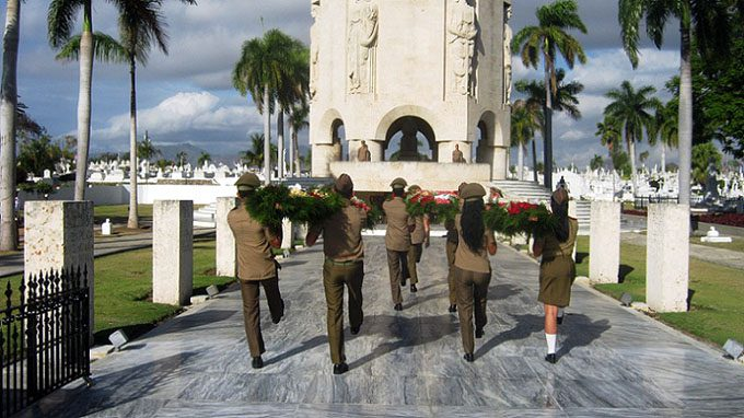 Raul Castro sends floral wreath to pay homage to Jose Marti