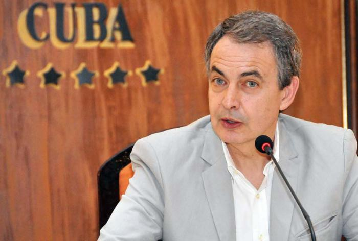 Rodriguez Zapatero: Cuba should be removed from List of Terrorist Countries