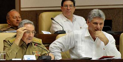 Raúl Castro en la Asamblea Nacional del Poder Popular