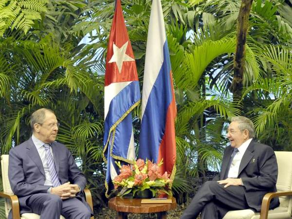 Raul Castro Meets with Russia�s FM