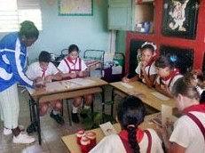 La ONU apoya método de enseñanza en Cuba