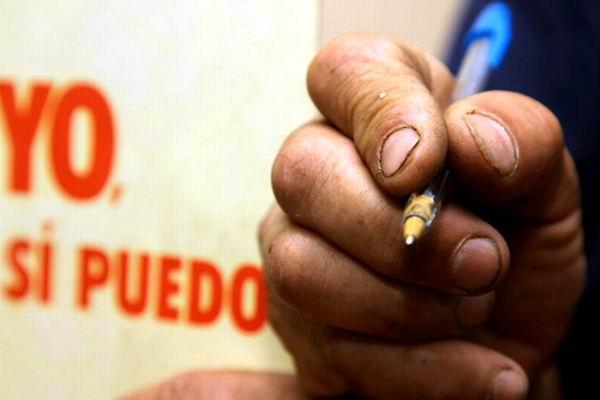 Cuba contra el analfabetismo
