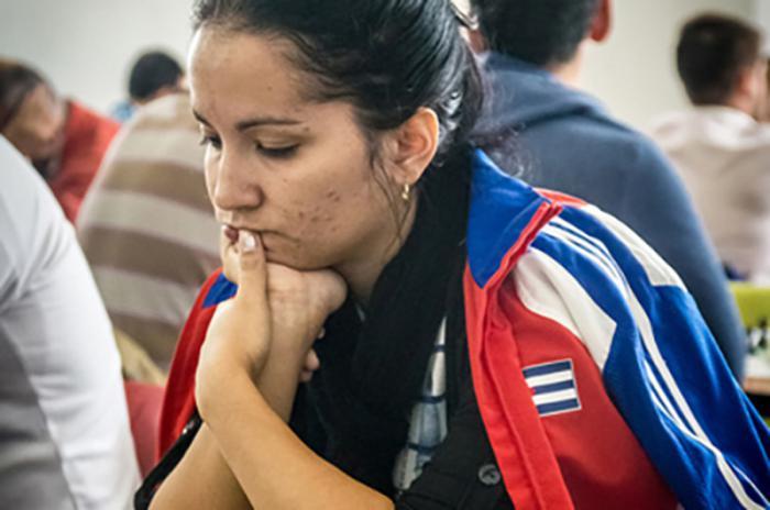 Cuban Miranda ranks Third in Women Continental Chess Championship