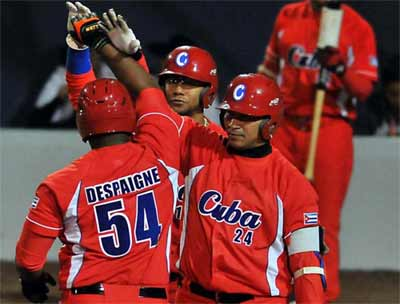 Cuban Baseball Team Undefeated in CAC Games