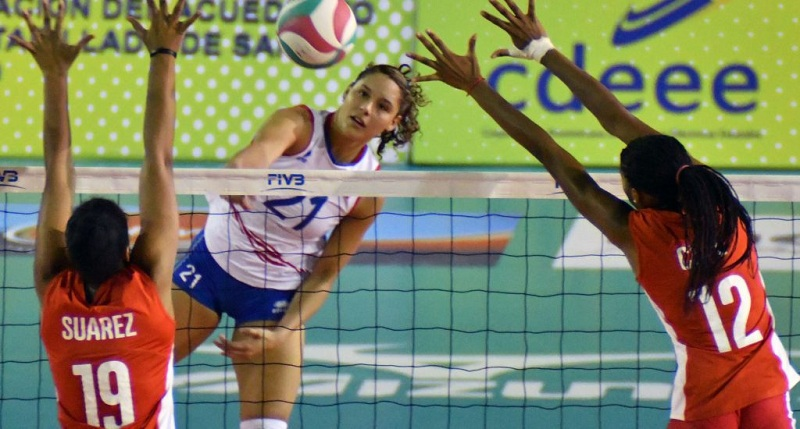 Cuban beach volleyball teams to play in the Dominican Republic