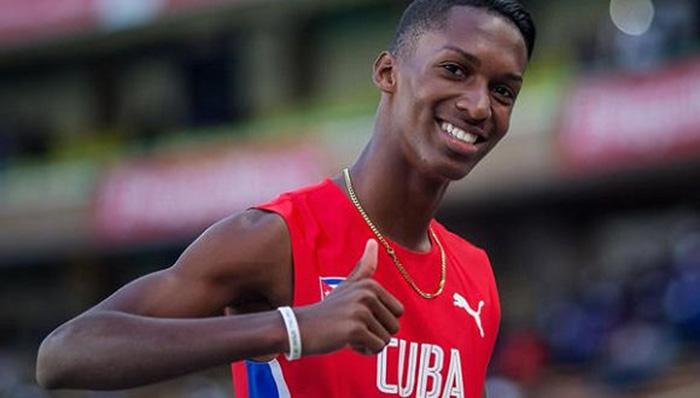 Cuban triple jumper Diaz wins youth Olympic gold