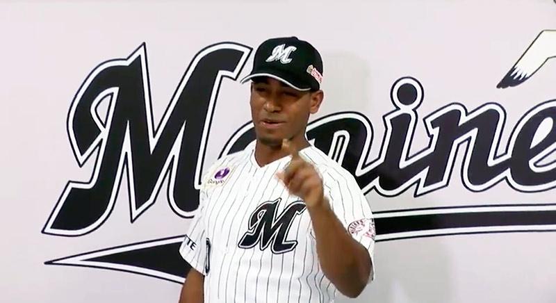 Cuban Roel Santos debuts in Japanese baseball