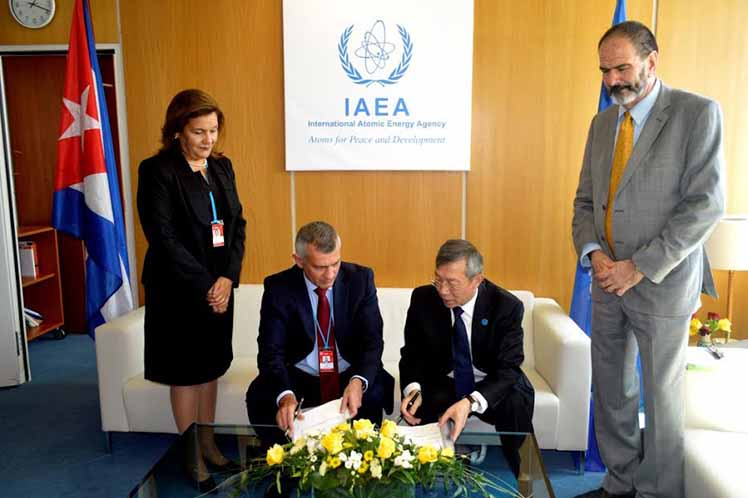 Cuba and IAEA sign technical cooperation agreement