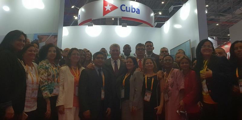 Cuba participates in China International Import Exhibition