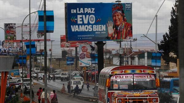 El domingo hay elecciones en Bolivia