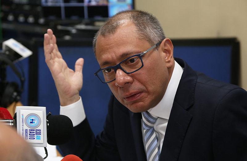 Procuraduría General acusa al vicepresidente ecuatoriano Jorge Glas