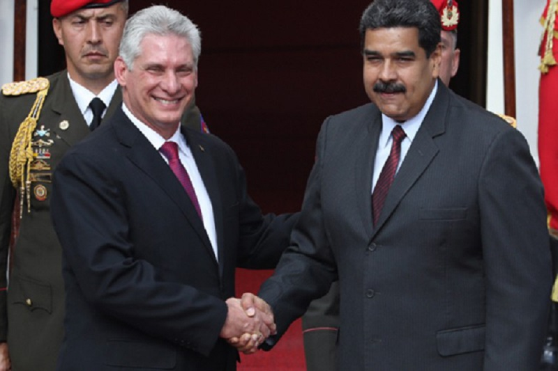 Diaz-Canel reiterates support for Venezuelan sovereignty
