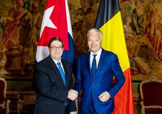 Cuba and Belgium Ratify Commitment to Continue Dialog