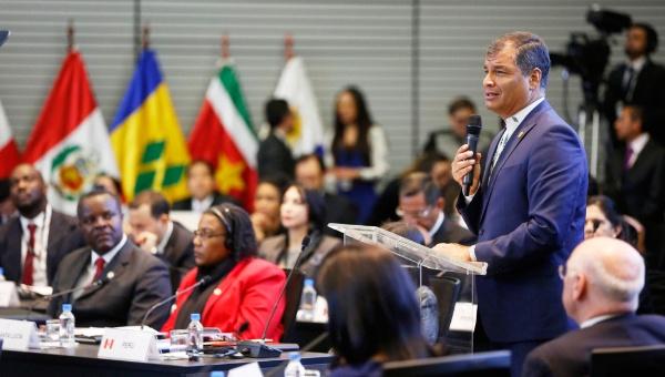 Rafael Correa: Nuestra América vive una época de cambios (+Audio)