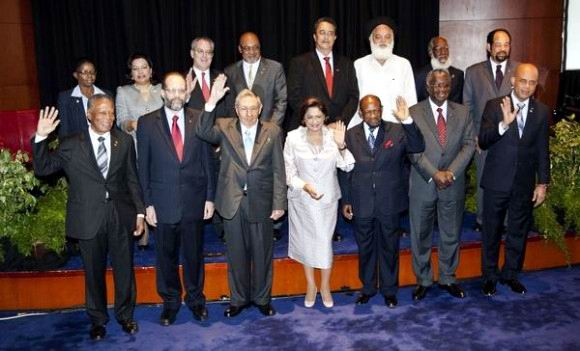 Cumbre Cuba-CARICOM firman Declaración Final de Puerto España