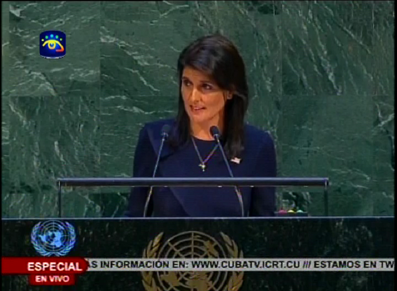 US defies UN and announces blockade on Cuba will continue