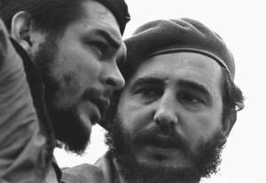 El Comandante Ernesto Guevara de la Serna y el Comandante en Jefe Fidel Castro