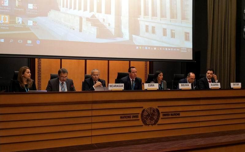Aboga Cuba en Ginebra por una cobertura sanitaria universal