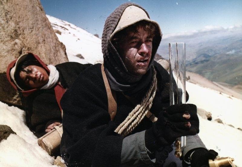 La ascensión al Chimborazo