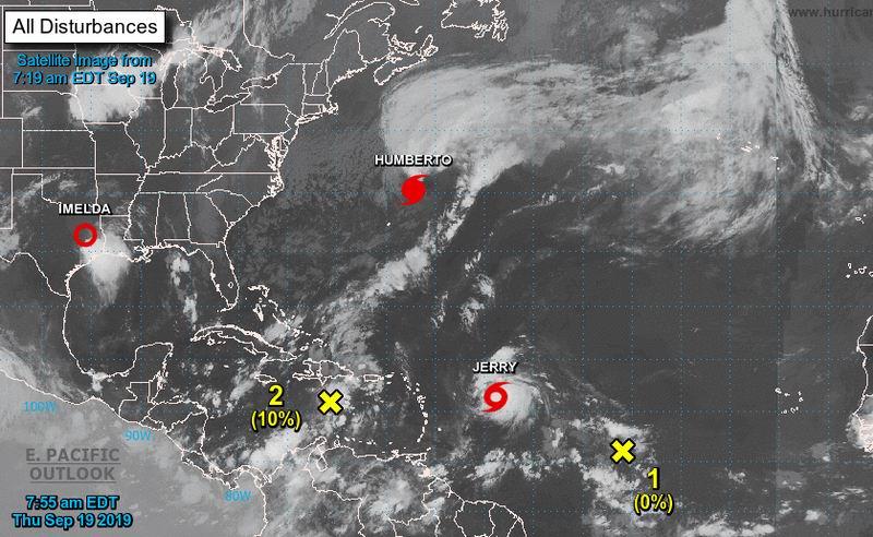 Ratifica septiembre su notable actividad ciclónica