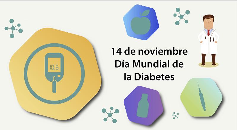 En el Día Mundial de la Diabetes va este mensaje saludable
