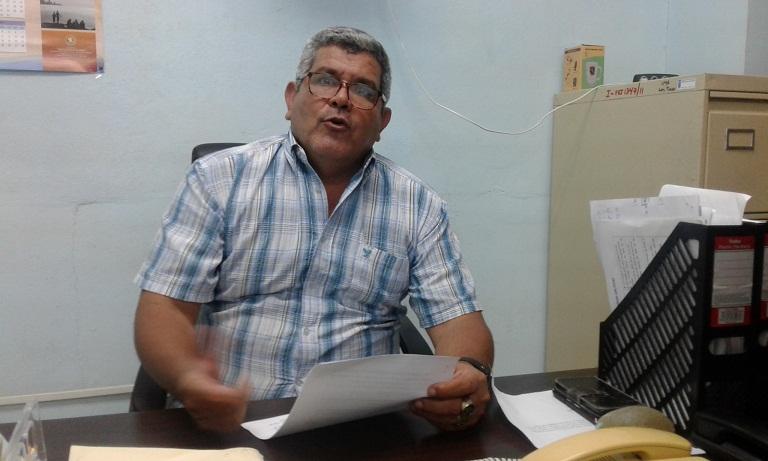 El Director de Medio Ambiente del Sistema de la Ciencia en Las Tunas, Amado Luis Palma